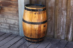 Old oak barrel Royalty Free Stock Photo