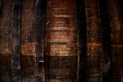 Old oak barrel Stock Photography