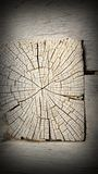 Old oak beam section Royalty Free Stock Photos