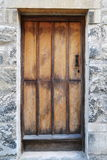 Old Oak Door Royalty Free Stock Photos
