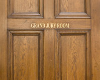 Old oak entrance door ot Grand Stock Photos