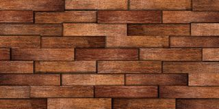 Old oak wall texture Stock Photos