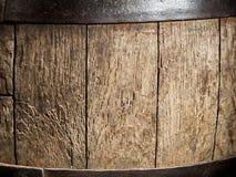 Old oak wine barrel. Stock Photos