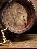 Old oak wine barrel. Stock Photography