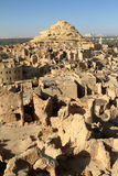 The old oasis town of Siwa in the Sahara of Egypt Stock Images