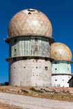 Old observatory in mountains Serra da Estrella. Portugal Stock Images