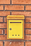 Old obsolete Post Mail Box Royalty Free Stock Photo