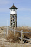 Old OBX Life Saving Station Royalty Free Stock Images