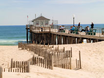The Old Ocean Grove Pier Stock Image