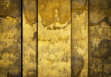 Old ocher medieval wall Stock Photo