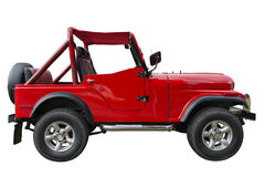 Old off-road car Royalty Free Stock Image