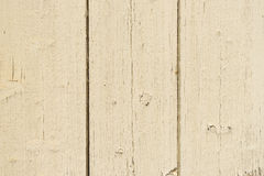 Old off-white wood boards at shabby style Royalty Free Stock Photography