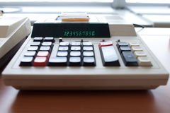 Old calculator Royalty Free Stock Images