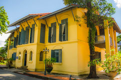An old official residence. Of Nakhonpanom province royalty free stock photography