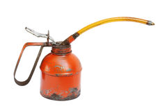 Old oil can Royalty Free Stock Photo
