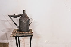 Old oil can Royalty Free Stock Photography