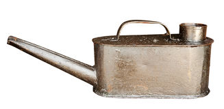 Old oil can Royalty Free Stock Photos
