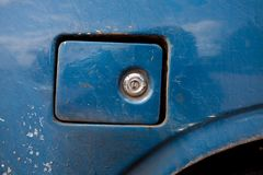 Old oil cap for reference. And textures.large size filen Royalty Free Stock Photos