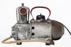 Old oil compressor Royalty Free Stock Photography