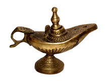 Old oil lamp Stock Image