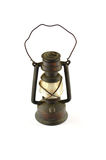 Old oil lamp close up Stock Photography