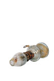 Old oil lamp falling Royalty Free Stock Images