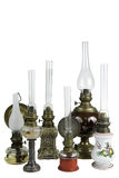 Old Oil Lamps Royalty Free Stock Photo