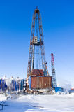 Old oil rig Royalty Free Stock Image