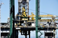 Oil platform out of order Stock Images