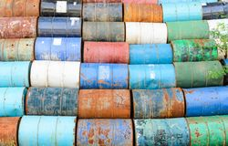 Old oil tank Royalty Free Stock Photography