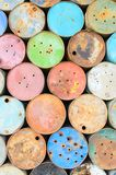 Old oil tank Royalty Free Stock Image