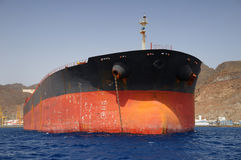Old oil tanker Stock Photo