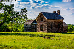 Free Old Oklahoma Catholic Ruins Ghost Town Stock Photography - 66626592
