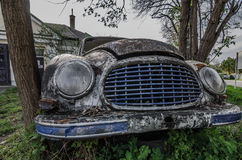 Old oldtimer front view Stock Photography