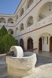 Old Olive Press, Byzantine Museum Stock Photography