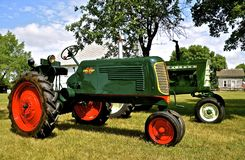 Oliver tractor at show Royalty Free Stock Image