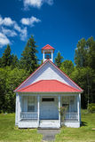 Old one-room country school house Royalty Free Stock Image