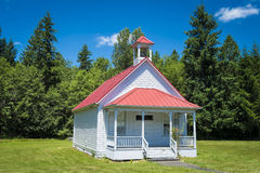 Old one-room country school house Royalty Free Stock Photos