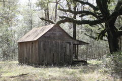 Old one room house Stock Photo