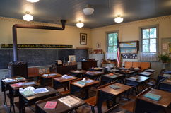 Old one room schoolhouse Stock Photography