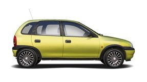 Old Opel Corsa Stock Photo