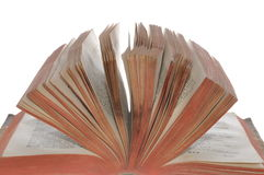 Old open book Royalty Free Stock Image