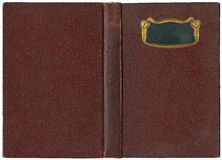 Old open book 1904 Stock Photography