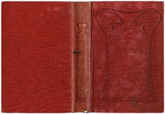 Old open book 1905 Stock Image