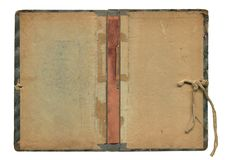 Old book sheet royalty free stock image