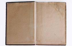 Old open book / photo album Royalty Free Stock Photography