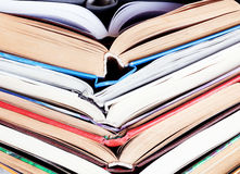 Old open books Royalty Free Stock Photos
