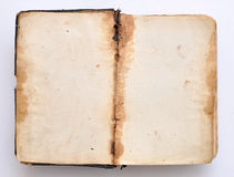 Old open book. Stock Photography