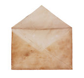 Old open envelope close up Royalty Free Stock Images