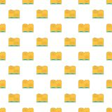 Old open magic book pattern seamless Royalty Free Stock Photography